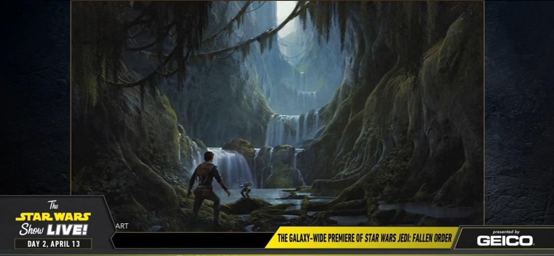 Star Wars Jedi: Fallen Order - Arte