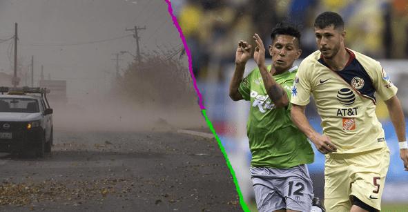 La Final de la Copa MX podría ser suspendida por fuertes ráfagas de viento