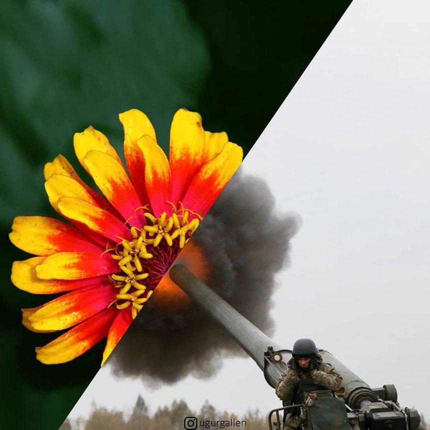 El universo paralelo entre la guerra y la paz, en una galería de fotos