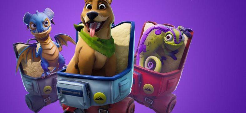 Fortnite - Actualización para interactuar con mascotas