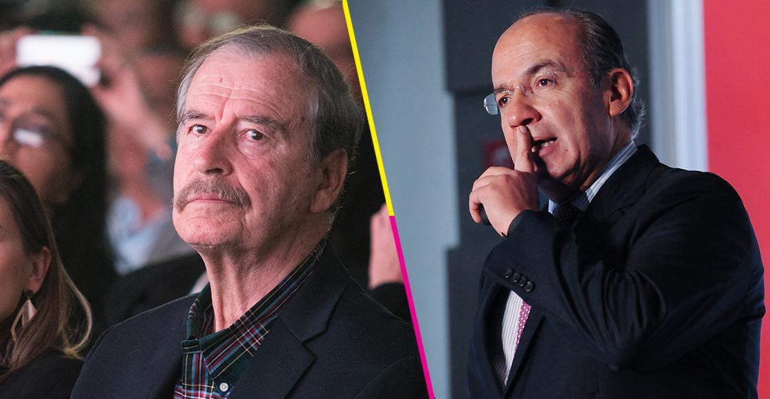 Fox y Calderón contarán con 8 elementos para su seguridad: AMLO