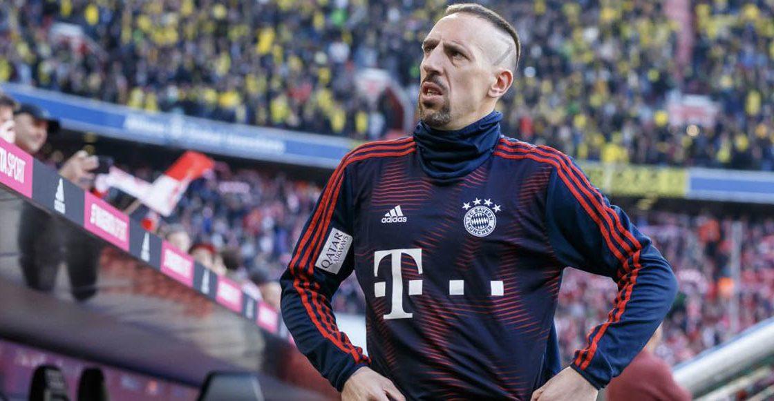 Aseguran que Ribéry daría fin a su carrera en Catar