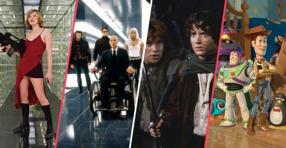 Estas son algunas de las franquicias más grandes del cine en el siglo XXI