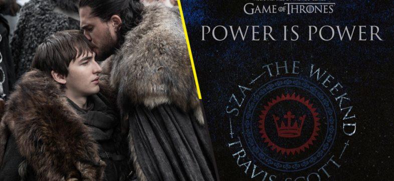 Travis Scott, SZA y The Weeknd liberan 'Power is Power' de 'Game of Thrones'