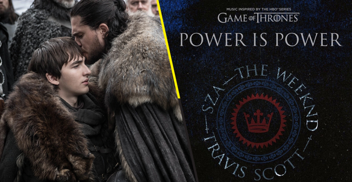 Travis Scott, SZA y The Weeknd liberan 'Power is Power' de 'Game of Thrones'