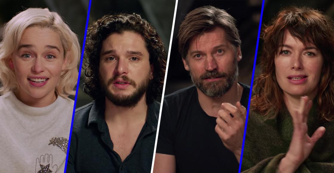 El elenco de Game of Thrones se despide de la manera más emotiva con estos videos