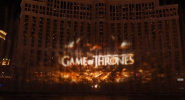 ¡WOW! Mira el increíble show de luces y agua de Game of Thrones que hicieron en Las Vegas