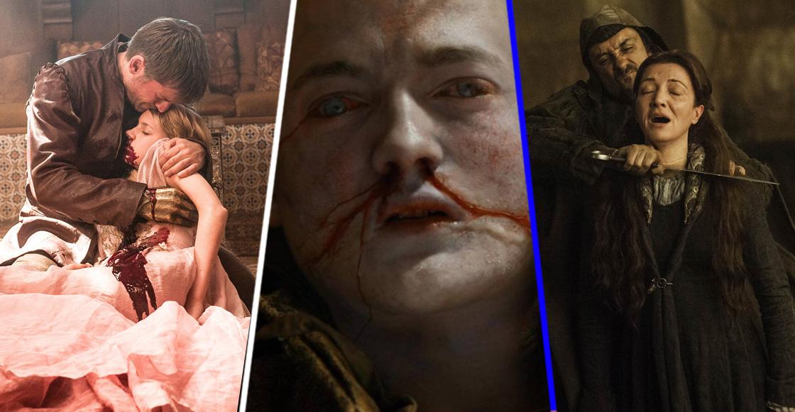Estas son (casi) TODAS las muertes que hemos visto en 'Game of Thrones'