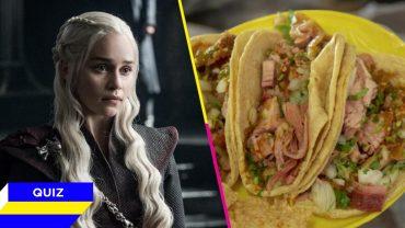 Game of Thrones - Quiz de comida