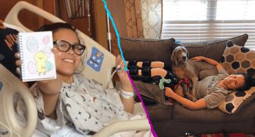 Gimnasta que se rompió ambas piernas, pide que dejen de compartir el video de su lesión: 'Ya tengo suficiente dolor'