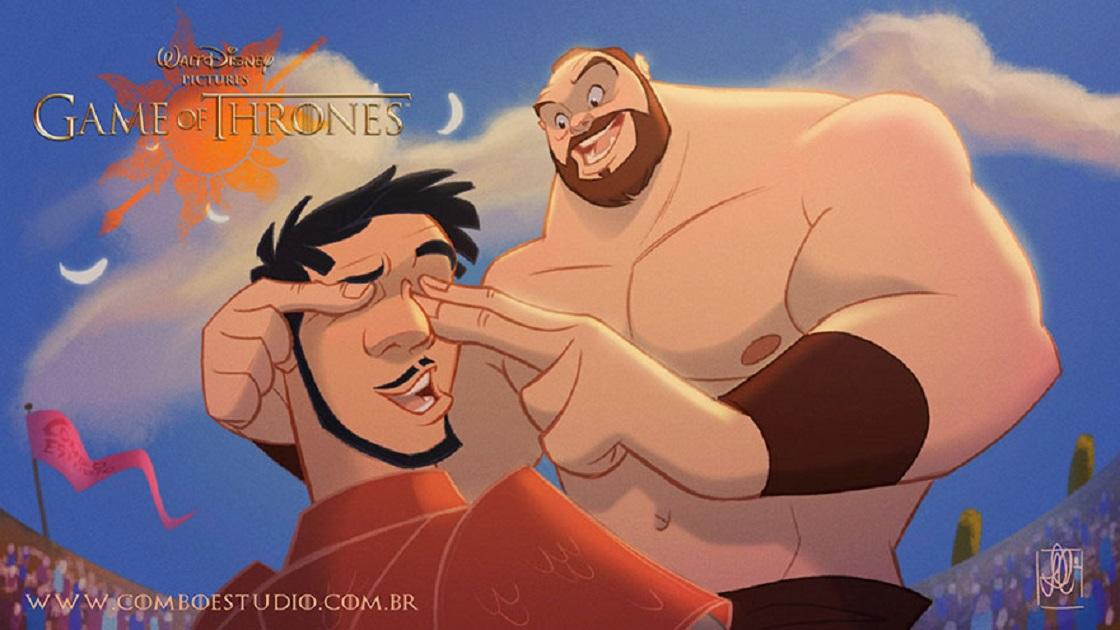 Game of Thrones - Dibujos estilo Disney