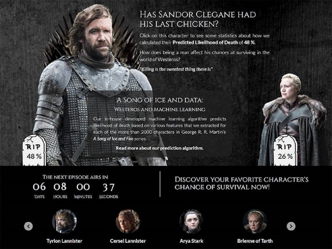 Game of Thrones- Estudio científico