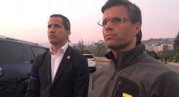 Venezuela: liberan a líder opositor Leopoldo López; Guaidó convoca a militares a unirse a él
