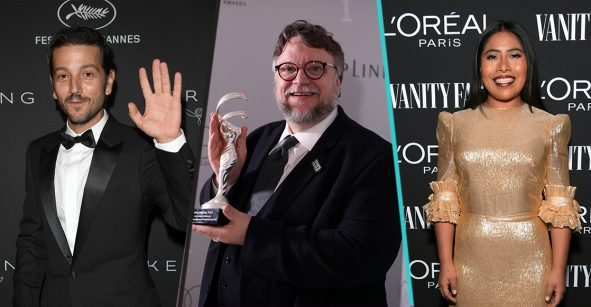 Trío perfecto: ¡Yalitza Aparicio y Diego Luna estarían en un proyecto de Guillermo del Toro!