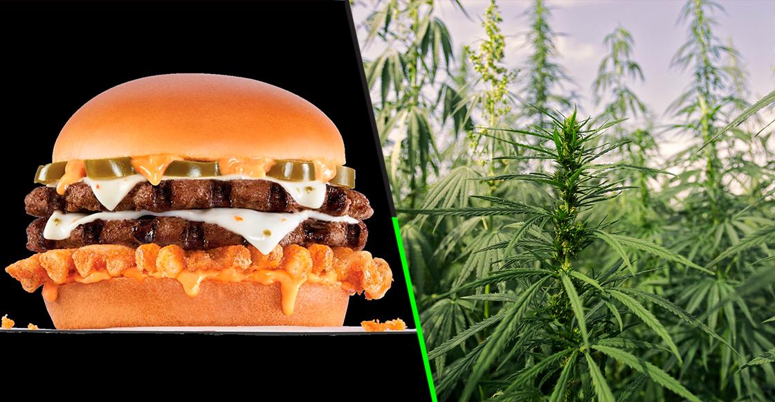 Un Carl's Jr de Estados Unidos ofrecerá por primera vez una hamburguesa con cannabis