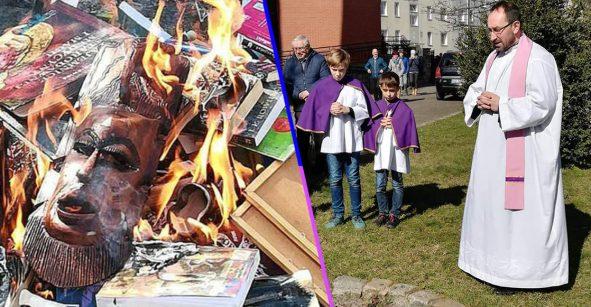 ¿Por qué son así? Sacerdotes católicos quemaron libros de Harry Potter por promover la brujería