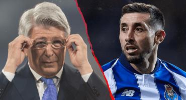 """Presidente del Atlético sobre Héctor Herrera: """"No podemos comernos el pollo antes de matarlo"""