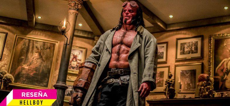 'Hellboy' respeta tanto a del Toro, que le quita lo divertido a este personaje de cómic