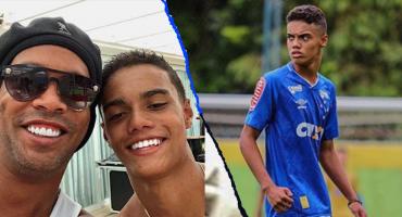 Cruzeiro ficha a Joao Mendes, el hijo de Ronaldinho, a los 14 años