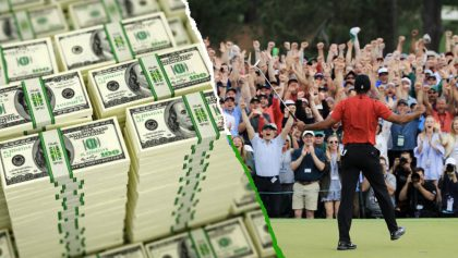 Apostador 'primerizo' se hizo rico tras la victoria de Tiger Woods en el Masters