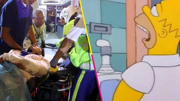 Homero en el baño