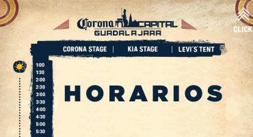 ¡Ya están los horarios para el Corona Capital Guadalajara 2019!