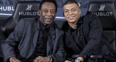 ¡Pelé fue hospitalizado luego de su encuentro con Mbappé!