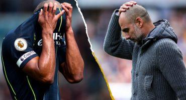 En imágenes: Los rostros del Manchester City sufriendo por ganarle al Burnley