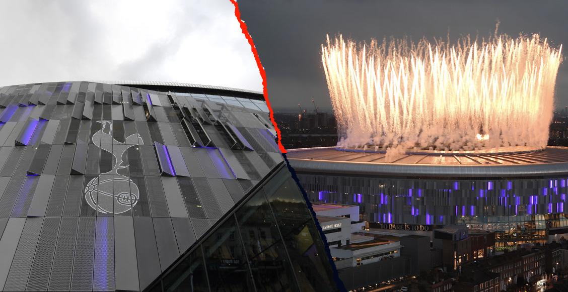 En imágenes: Así fue la inauguración del nuevo estadio del Tottenham
