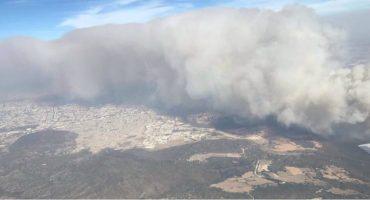 Activan alerta atmosférica por incendio en el bosque La Primavera, en Zapopan, Jalisco