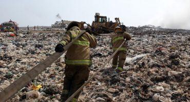 Activan alerta atmosférica en Guadalajara por incendio en basurero 'Los Laureles'