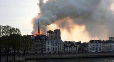 Se incendia la histórica catedral de Notre Dame en París