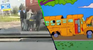 Independiente no gana y ahora los jugadores empujan su propio autobús en Colombia