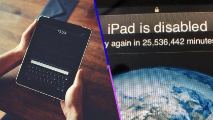 ¡Ups! Un niño bloqueó accidentalmente el iPad de su papá por más de 40 años
