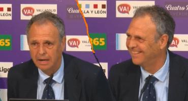 El momento en el que el técnico del Sevilla, Joaquín Caparrós, informa que padece leucemia