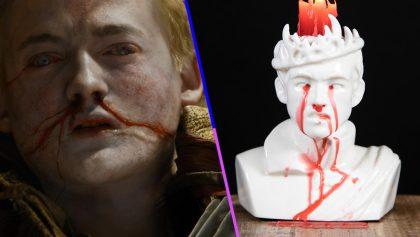 Esta vela de Joffrey es todo lo que un fan de Game of Thrones necesita tener