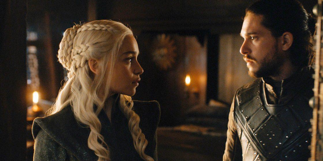 Game of Thrones - Jon y Daenerys