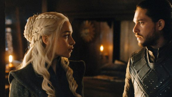 Game of Thrones - Jon y Daenerys