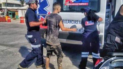 En Tamaulipas, entierran a joven en la arena durante fiesta en la playa y lo abandonan