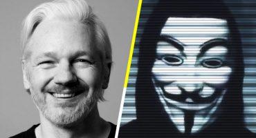 Anonymous exige a gobiernos que liberen a Julian Assange o