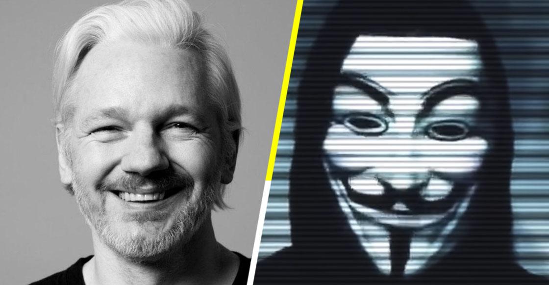 """Anonymous exige a gobiernos que liberen a Julian Assange o """"lo pagarán"""""""