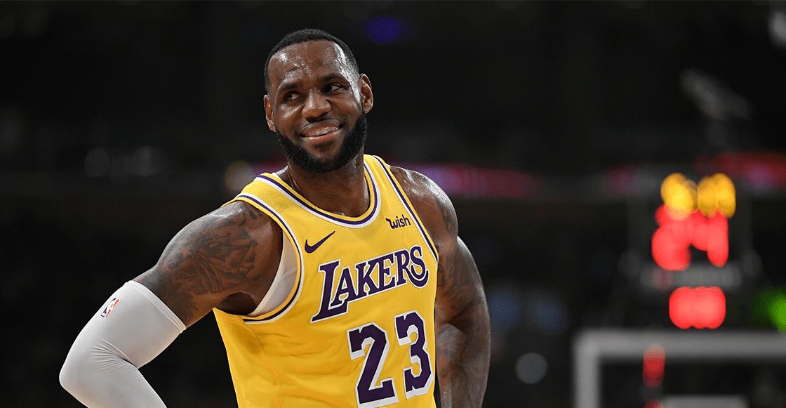 LeBron James logra su primer 'título' con Los Angeles Lakers