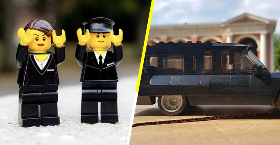 LEGO Funeral: El conjunto de piezas que ayuda a los niños a entender la muerte