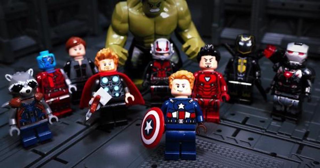 ¡Paren todo! Hay nuevos Legos de Avengers Endgame