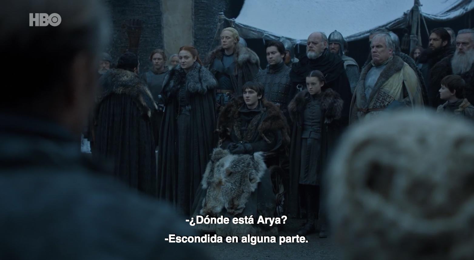 Las similitudes del primer capítulo de la 1ª y 8ª temporada de Game of Thrones