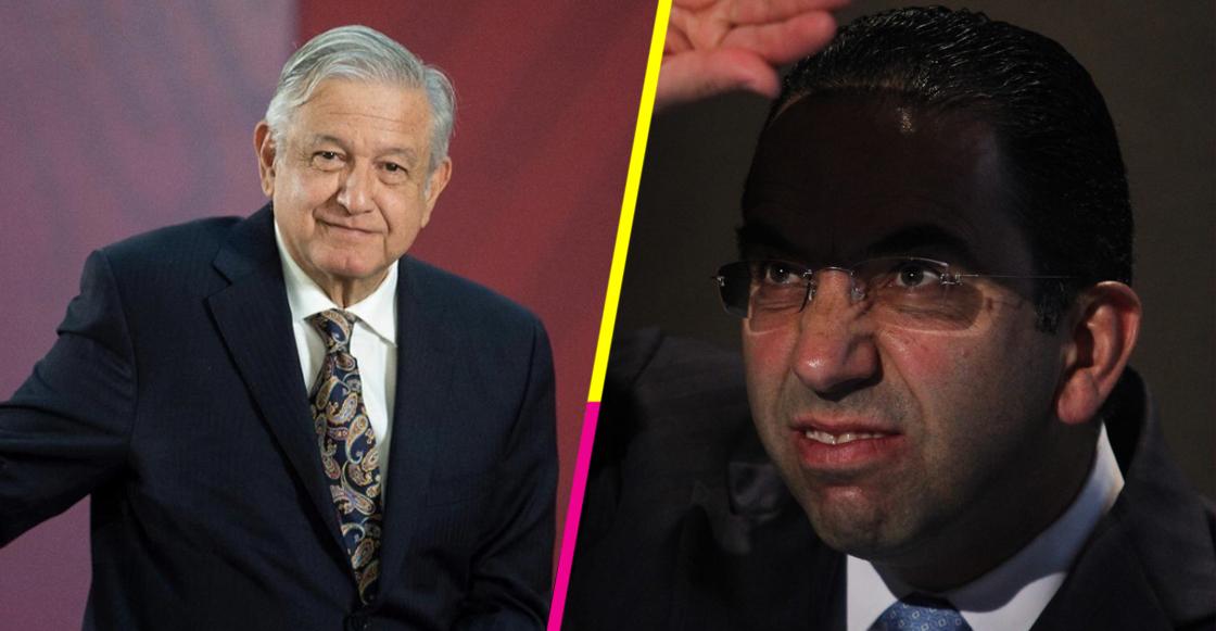 Quítate Edy Smol: Javier Lozano es policía de la moda y critica corbata de AMLO