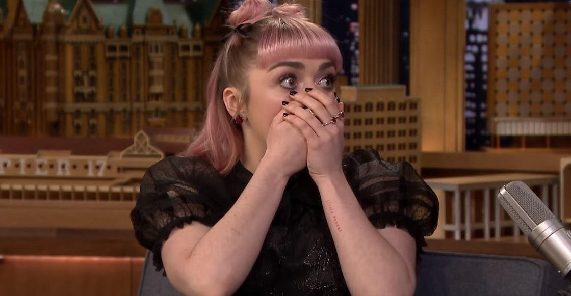 Maisie Williams - Spoiler de Game of Thrones