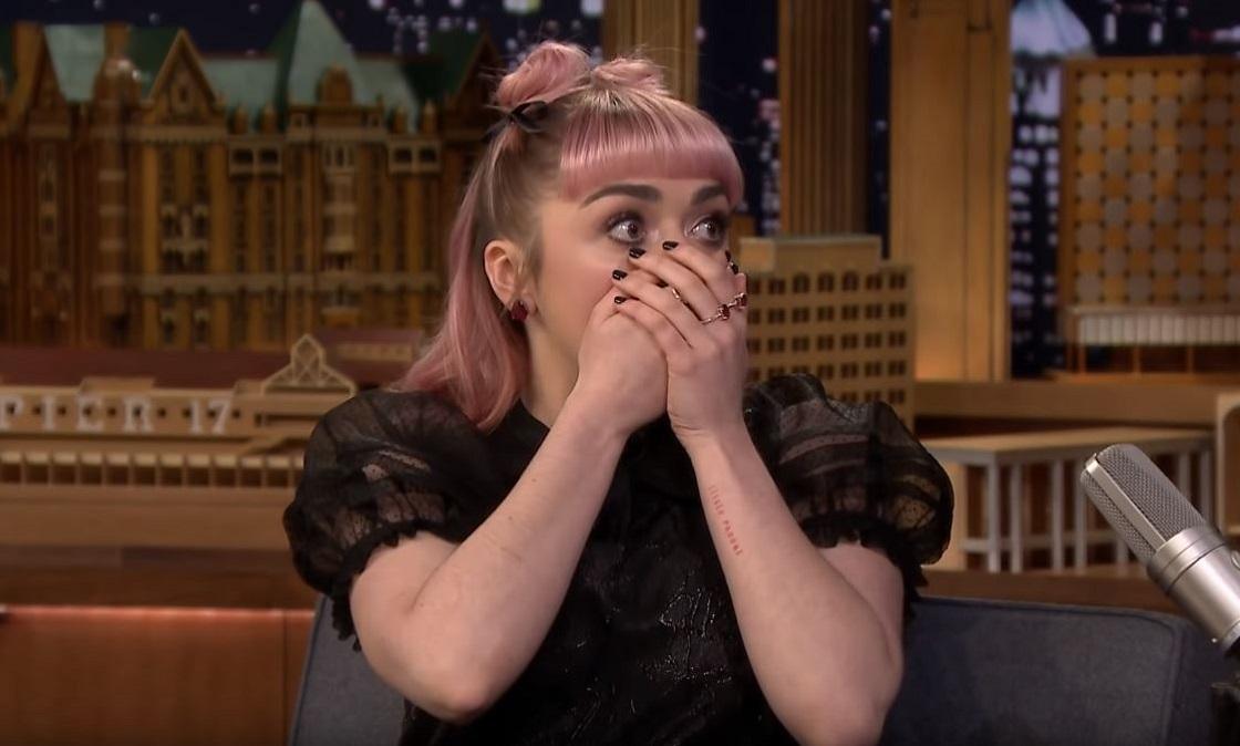 Maisie Williams casi nos provocó un infarto con su