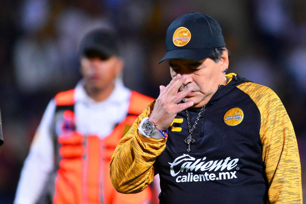 ¡No es broma! Maradona abandonaría a Dorados terminando el Clausura 2019