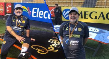 Maradona invita a Ronaldinho a entrenar con Dorados 😱